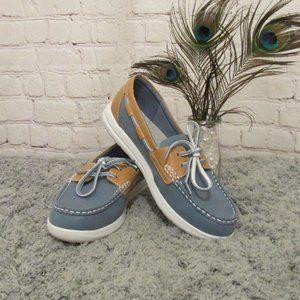 EUC Clarks Cloudstepper Boat Shoes